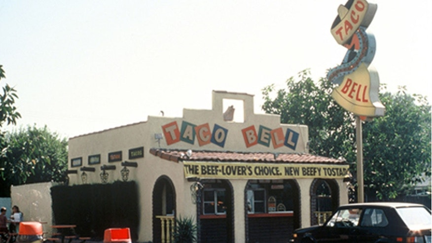 Taco Bell relocated the first Taco Bell restaurant known as Numero Uno from Downey, CA to Taco Bell headquarters in Irvine, CA, and saving it from demolition.