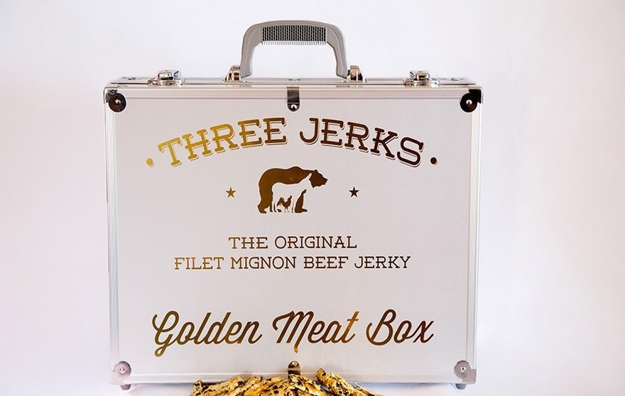 The Golden Meat Box retails for $500.