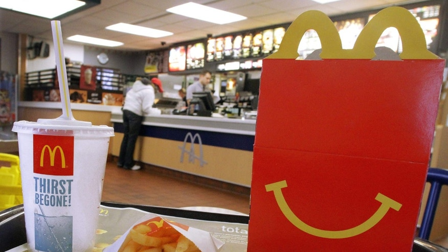 A happier Happy Meal? McDonald's is offering table service at 600 Southern California locations.