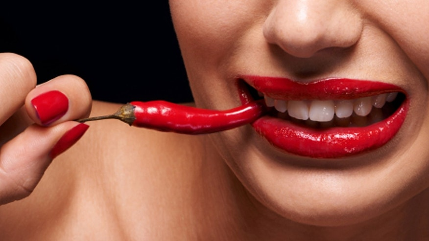 Don't drink water after eating that spicy pepper.