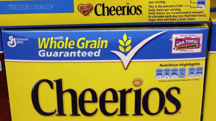 "General Mills says Cheerios sales rose 3 percent after it began labeling the boxes as ""Gluten Free"" and promoted the change in September."