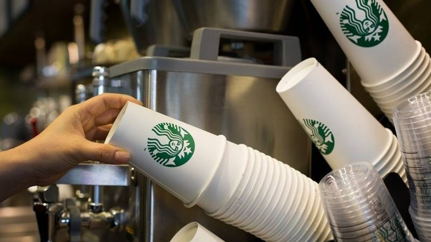 A Starbucks customer has accused a young employee of copying her credit card information.