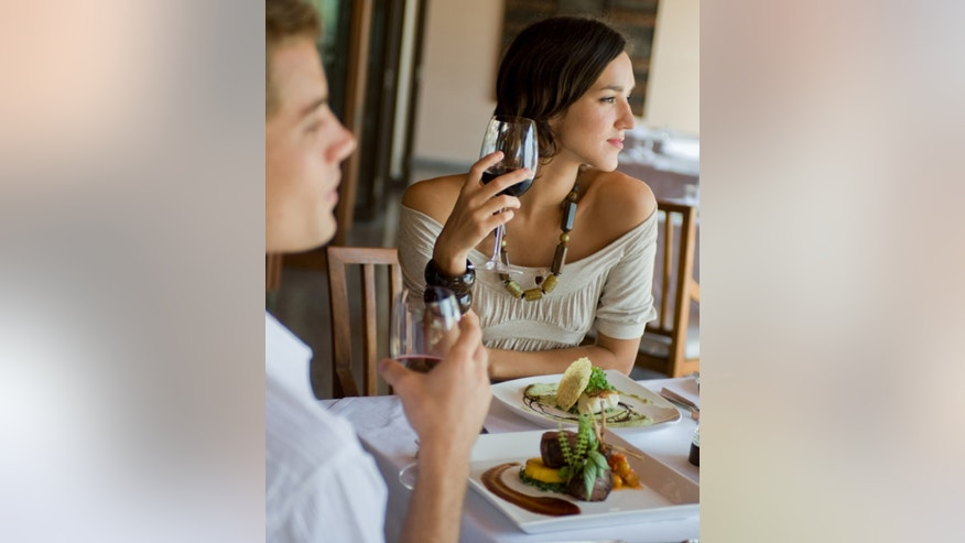 Attractive diners are often seated closest to the front of a restaurant.