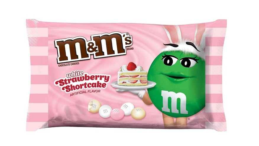 Strawberry Shortcake M&Ms are a fruity new take on the traditional chocolate candy.