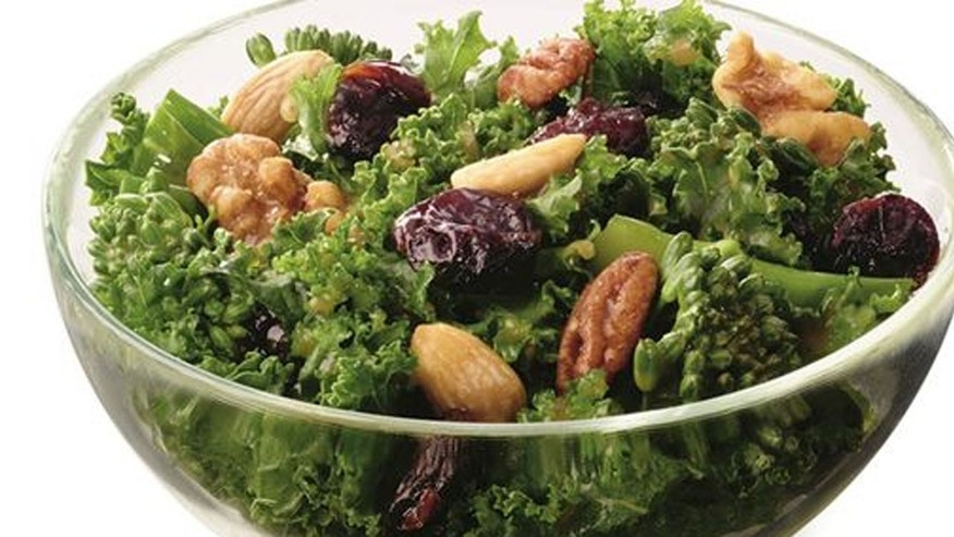 Chick-fil-A's Superfood Side is made with kale, broccolini, dried sour cherried and roasted nuts.