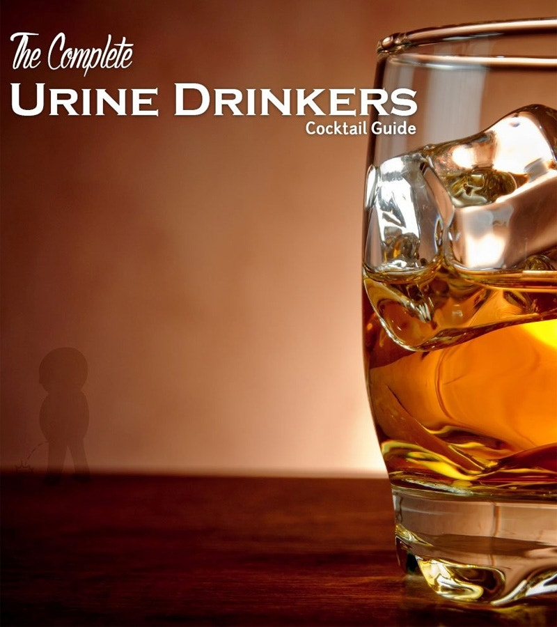 Cocktail guide offers recipes made with urine