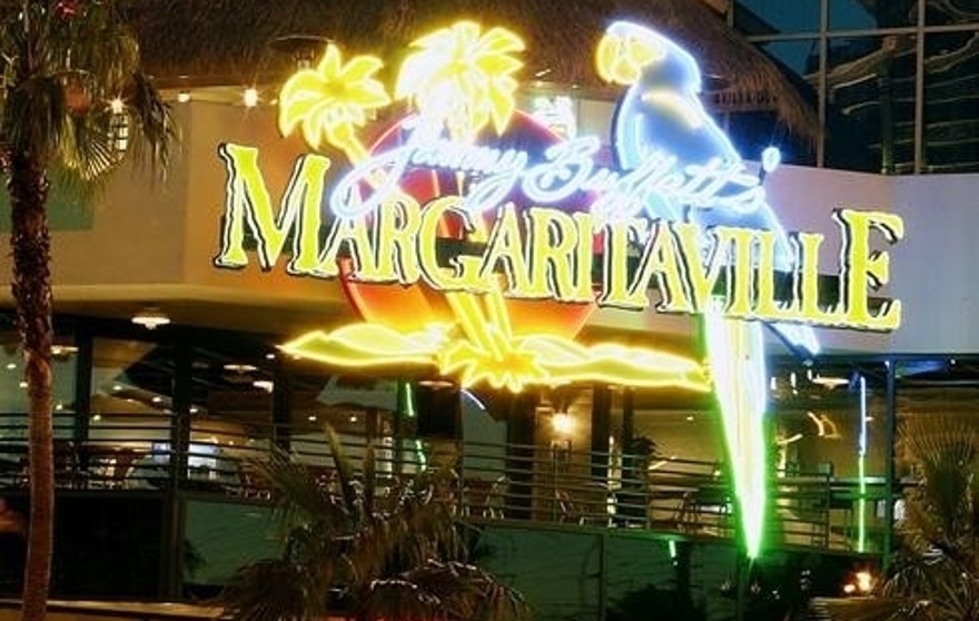 Jimmy Buffet's Margaritaville restaurant at The Flamingo on the Las Vegas Strip.  Buffet's song about the drink released in 1977 helped make it a lasting part of pop culture.