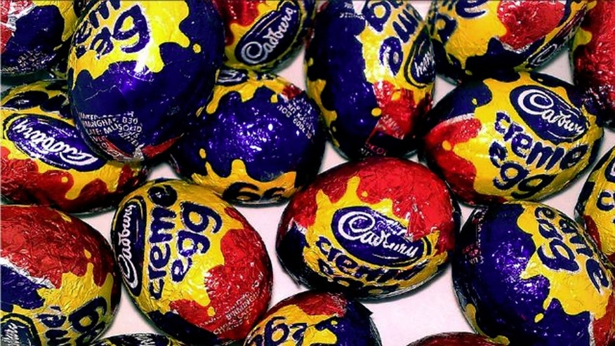 From McFlurries to pizza, Cadbury Creme Eggs seem to be a hit...but not so much here.