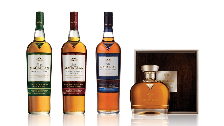 Some newer bottles of popular Macallan do not disclose the whisky's age but focus on the aging process.