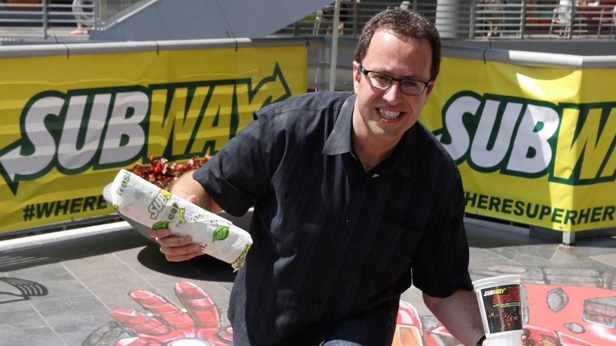 Jared Fogle is back to his sandwich-making roots behind bars.