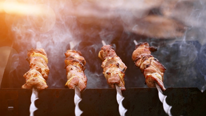 This fancy kebab isn't your average street meat.