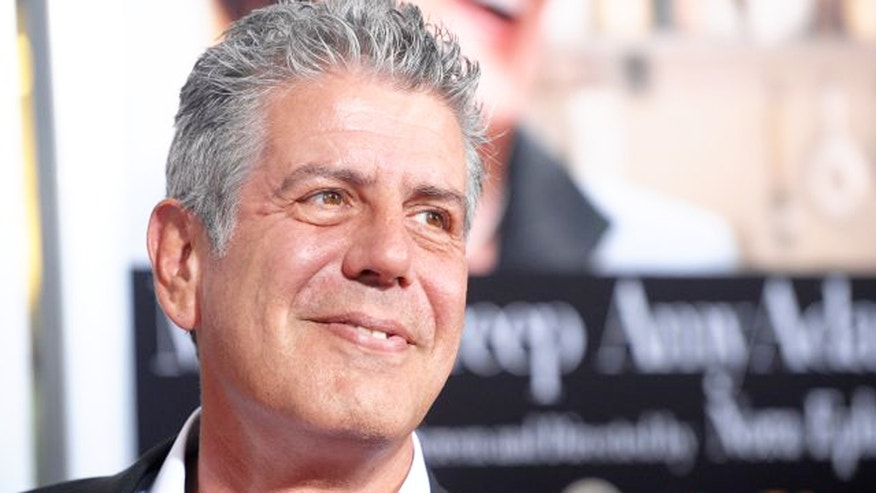 Anthony Bourdain may not be too experienced when it comes to ordering in.