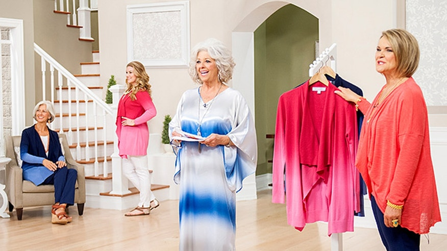 Paula Deen's line includes easy to wear separates and long dresses.
