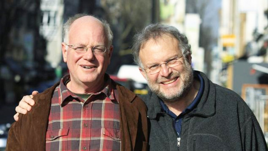 Ben Cohen, left, and Jerry Greenfield founded Ben & Jerry's Ice Cream in 1978.