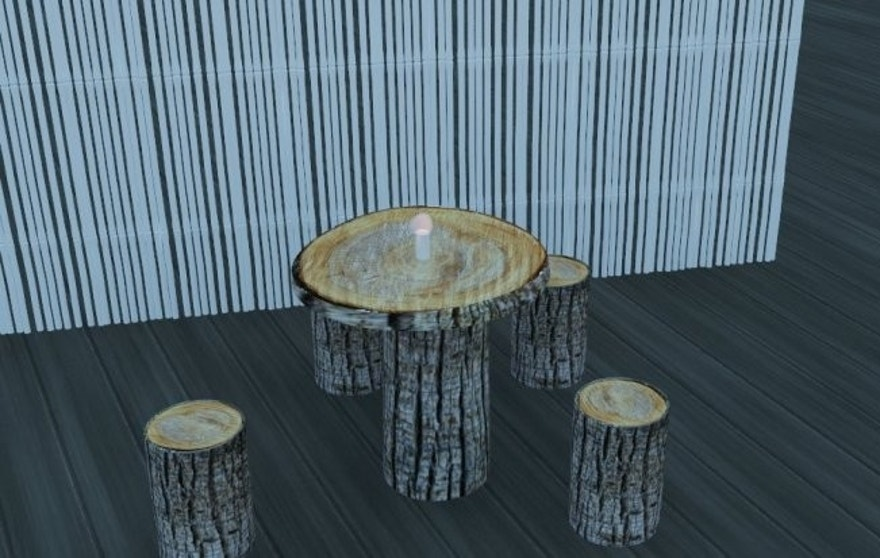 Diners in the buff will be seated on simple wooden stools at the Pangea-themed eatery.
