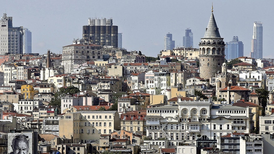 Istanbul's skyline is dotted with historic buildings. After eating at a restaurant in the trendy  Bakirkoy district, a man is accused of pulling out a gun and shooting his dining companion.