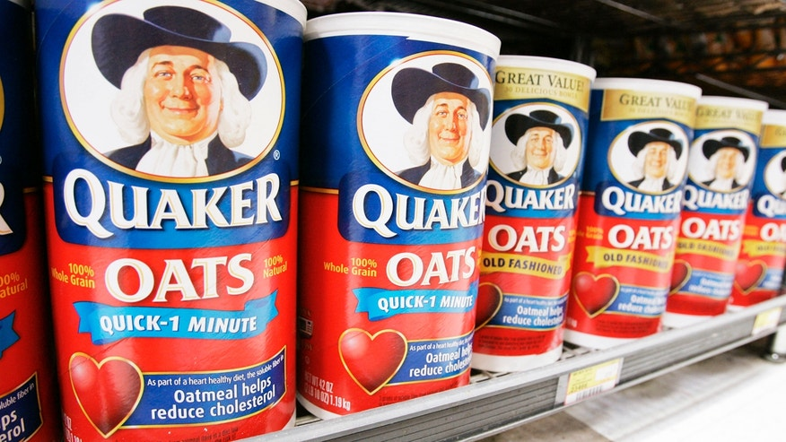 Quaker Oats is owned by PepsiCo.