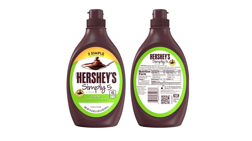 Hershey's simplifies its classic chocolate syrup.