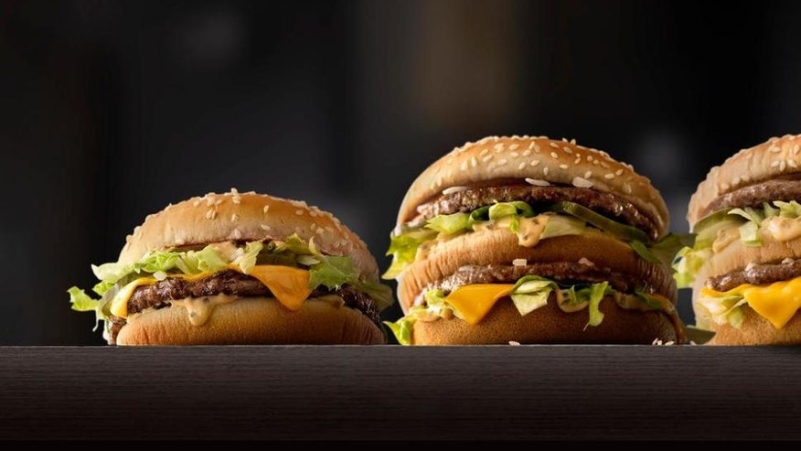 McDonald's is testing fresh beef patties in its bigger burgers.