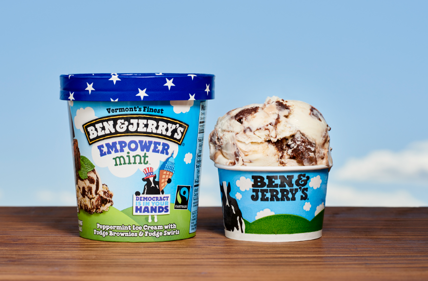 taking a look at ben and jerry So companies like ben and jerry's, nespresso and l'oreal are taking a multifaceted approach we have a huge footprint, and we need to be laser focused we need to do everything we can across our entire footprint, says asch.
