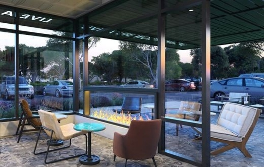 California Sol will feature lounge seating and fire pits.
