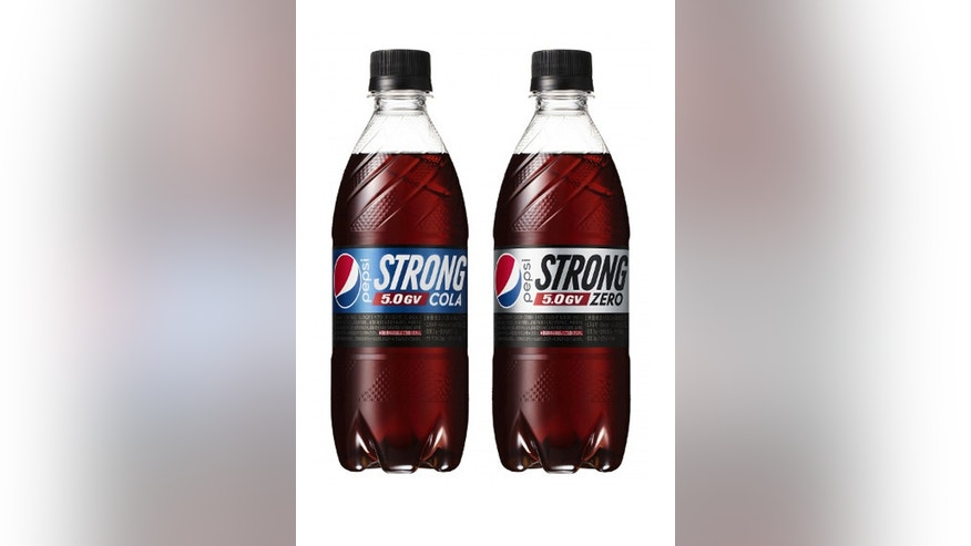 Pepsi's new soda have five times the carbonation of its regular cola.