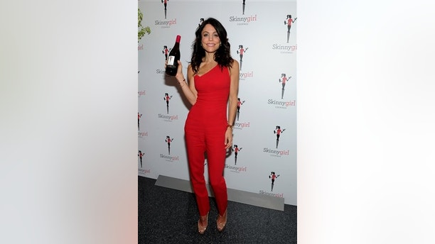 "IMAGE DISTRIBUTED FOR SKINNYGIRL COCKTAILS - The original Skinnygirl Bethenny Frankel introduces fans to the newest Skinnygirl Cocktails innovation, Pinot Noir, at the ""Boy Meets Skinnygirl Cocktails"" Valentine's Launch Party, Tuesday, Feb. 10, 2015 in New York. (Photo by Diane Bondareff/Invision for Skinnygirl Cocktails/AP Images)"
