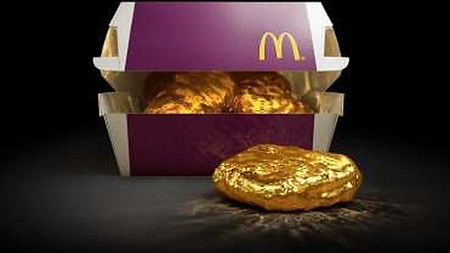 This $1,500 golden nugget could be yours-- if you eat McDonald's in Japan.