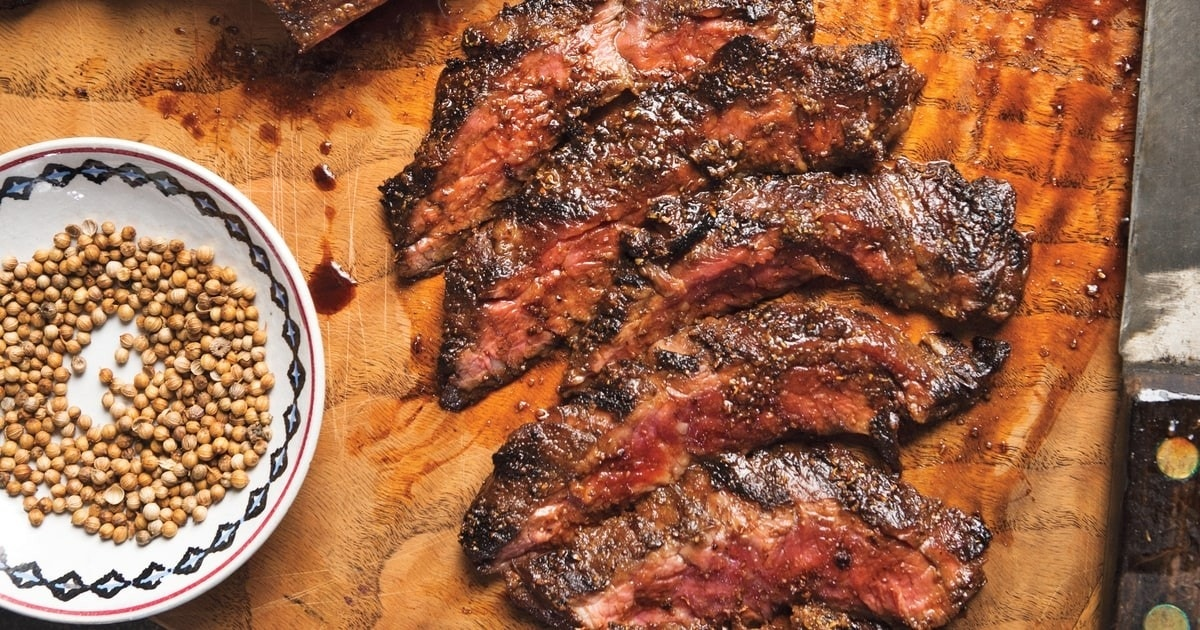 How to really spice up your skirt steak