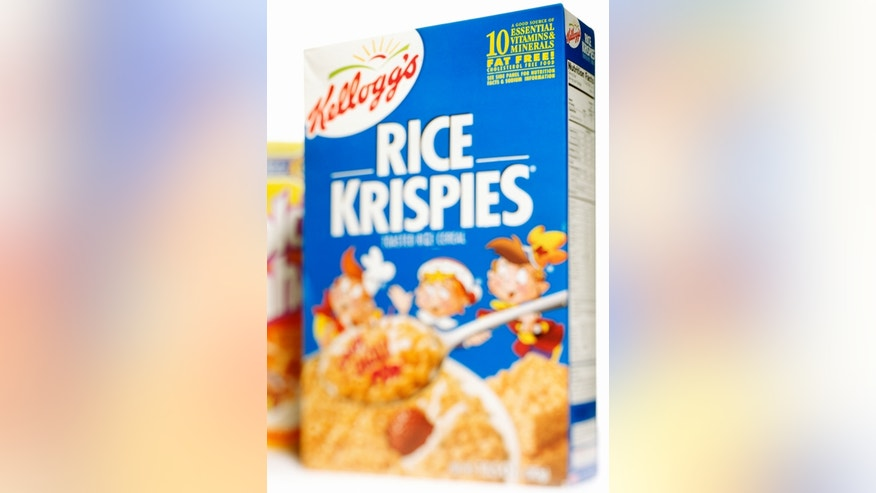 A Scottish teenager found more than snap, crackle and pop in her box of Rice Krispies cereal.