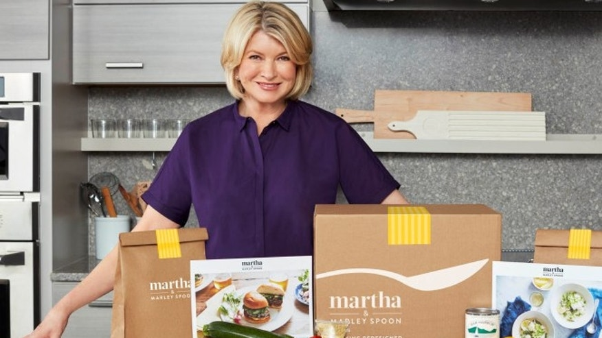 Martha Stewart now has a branded meal kit delivery service line.