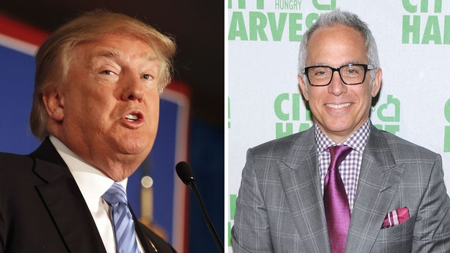 Donald Trump has sued Food Network star Geoffrey Zakarian for pulling out of a restaurant deal at the real estate developer's new property in Washington.