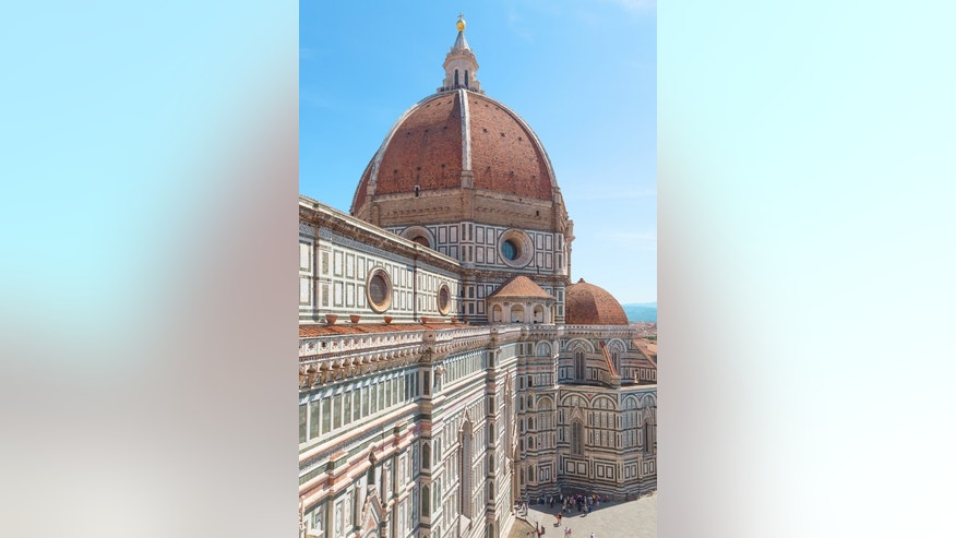 Not in my piazza: Italians are protesting a proposed McDonald's location near the Cathedral Santa Maria del Fiore.