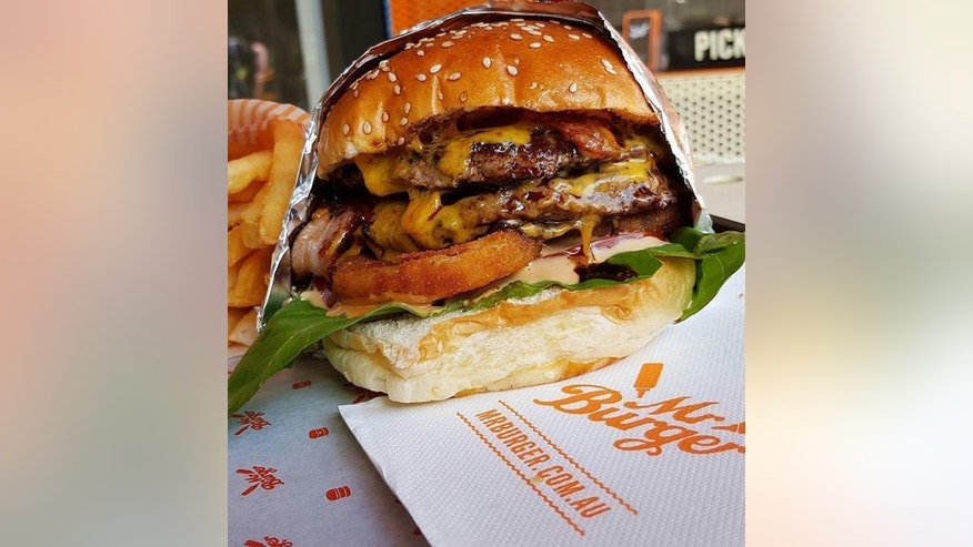 Love burgers? Melbourne's Mr Burger wants you to prove it by changing your name.