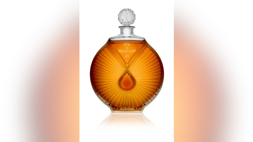 Macallan's 65-years-old 'Peerless Spirit' decanter retails for about $35,000.