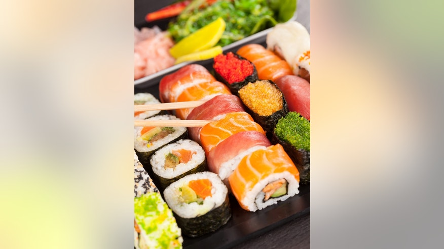 Author Larry Olmstead says sushi restaurants are particularly bad offenders of food fraud.