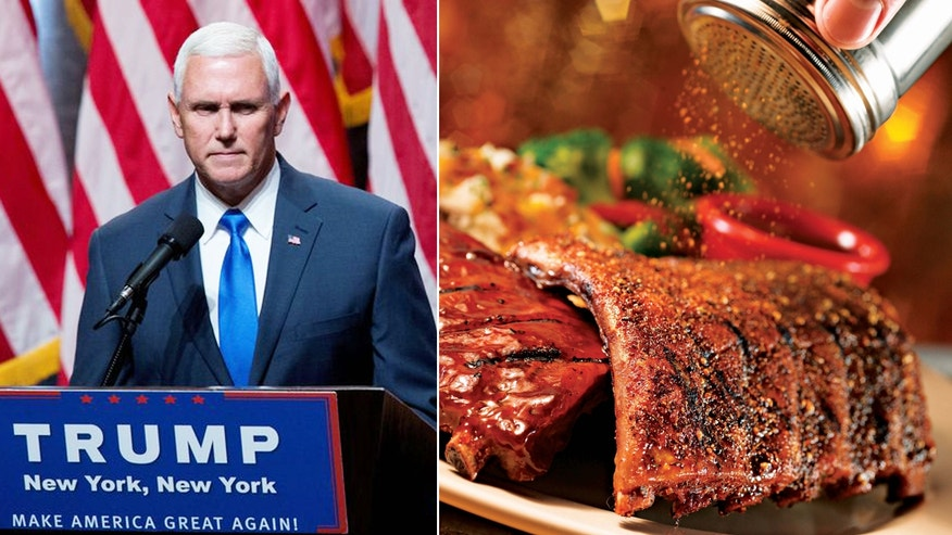 Mike Pence enjoyed a meal at a New Jersey Chili's over the weekend. New Yorkers were not impressed.