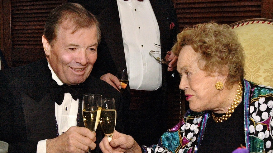 French chef Jacques Pepin, pictured with Julia Child in 2004, was one of the first chefs to appear in his own TV show.