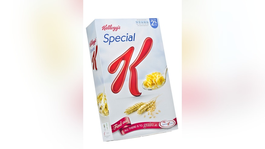 London, England - January 7, 2013:Box of Kellogg's Special K Breakfast Cereal, Part of a calorie controlled diet.The cereal was introduced to the United States in 1956.