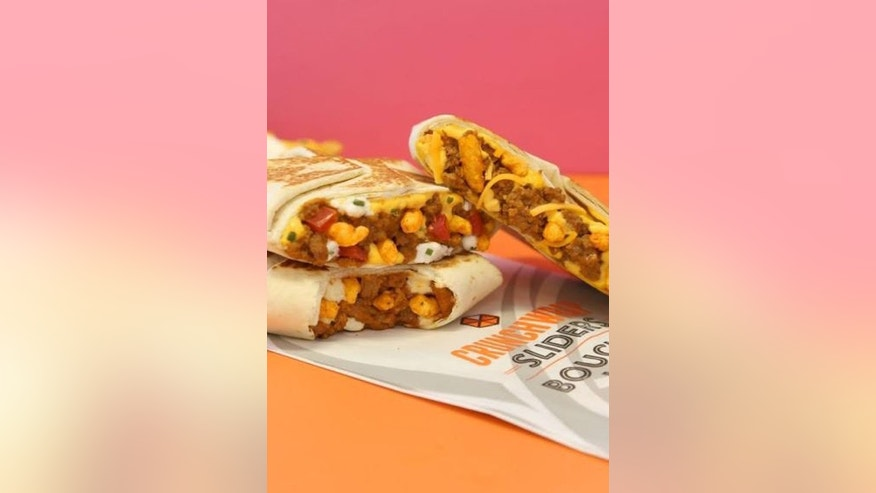 Taco Bell Canada introduced Beefy Cheddar Cheetos Crunchwrap Sliders and Supreme Cheetos Crunchwrap Sliders earlier this year.