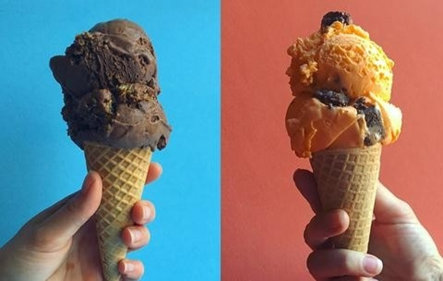 Are ready to sink your teeth into these presidential candidate themed ice cream flavors?