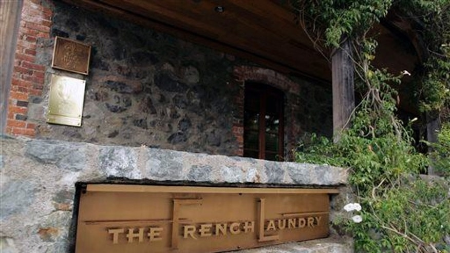 The French Laundry restaurant in 2006.