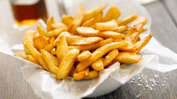 French Fries at a pub.