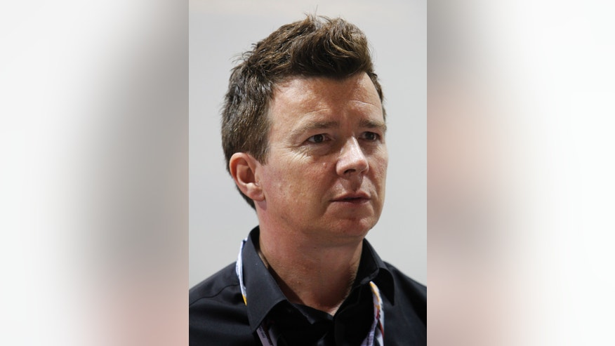 Singer Rick Astley is searching for a name for his own beer.
