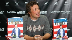 FILE - In this file photo dated Tuesday, Sept. 15, 2009, British chef Jamie Oliver during a book signing session in London. Celebrity chef Jamie Oliver is shutting six of his 42 Jamie's Italian restaurants in Britain, according to a statement issued Friday Jan. 6, 2017, amid tough trading conditions and a lower pound following Britain's Brexit vote to leave the European Union.(AP Photo/Sang Tan, FILE)