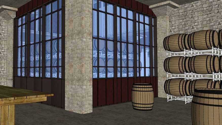 A concept of thte Guinness Open Gate Brewery Tasting Room.