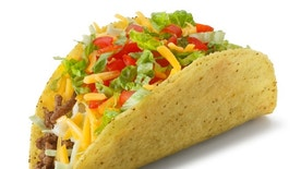 """""""A classic taco on white with soft shadow.To see more of my Mexican food images, click on the link below:"""""""