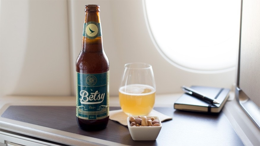 cathay pacific betsy beer 1