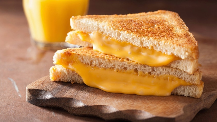 Is there anything better than a classic grilled cheese made with American slices?