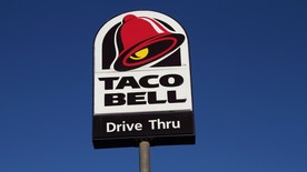 taco bell sign istock